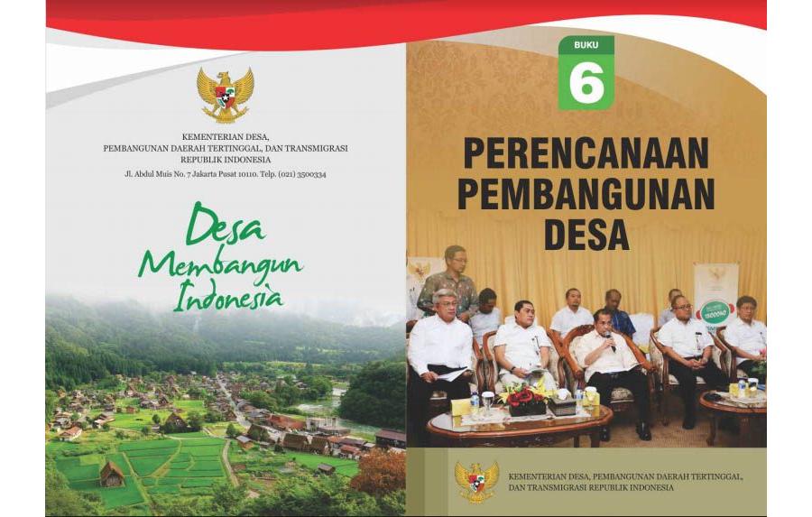 Perencanaan Pembangunan Desa - Buku 6