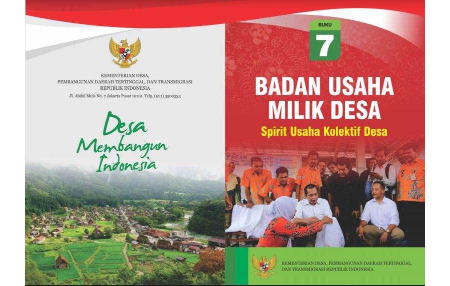 Badan Usaha Milik Desa, Spirit Usaha Kolektif Desa - Buku 7